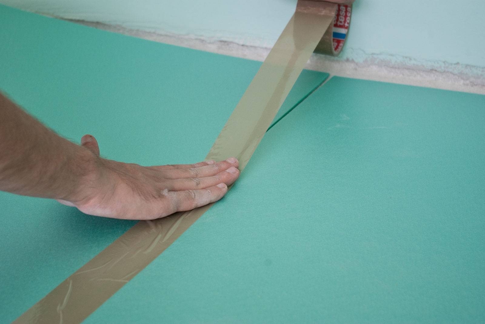 Top 28 how to install underlayment for laminate for Floor underlay