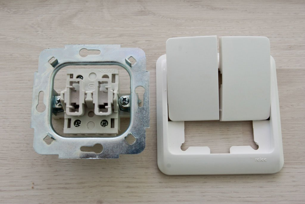 Dissembled light switch