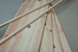 Wood boards for shelves
