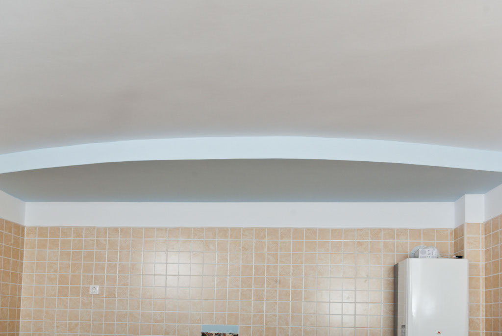 Finished Ceiling Arch