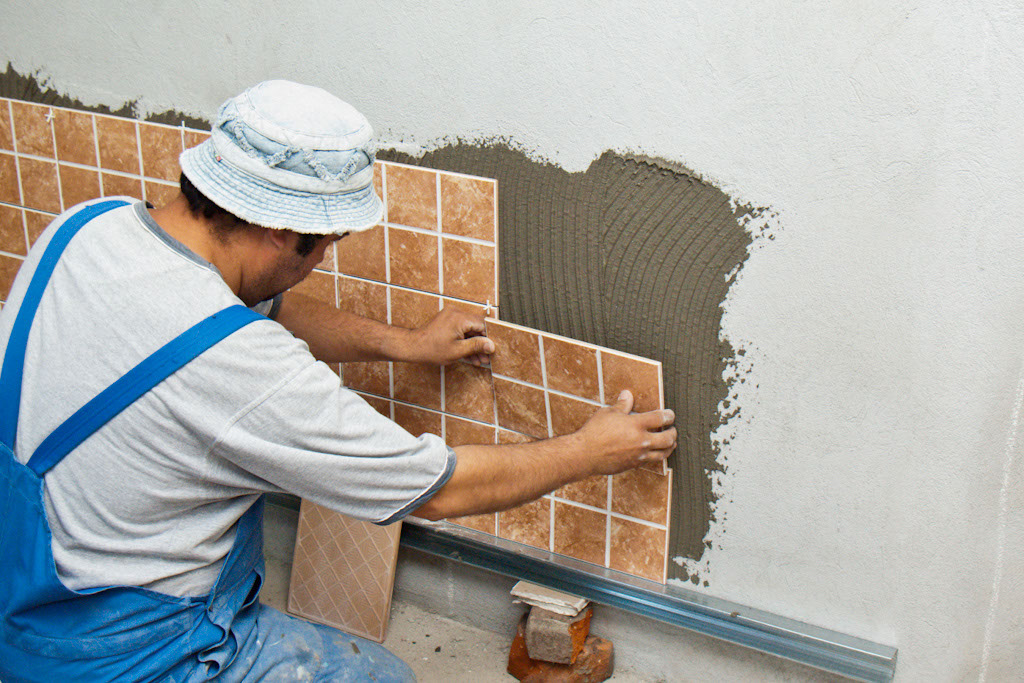 How To Install Wall Tile Howtospecialist Build Step By