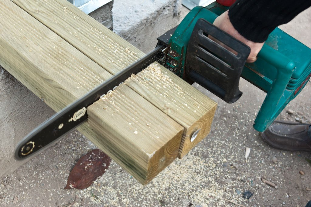 Cutting deck posts