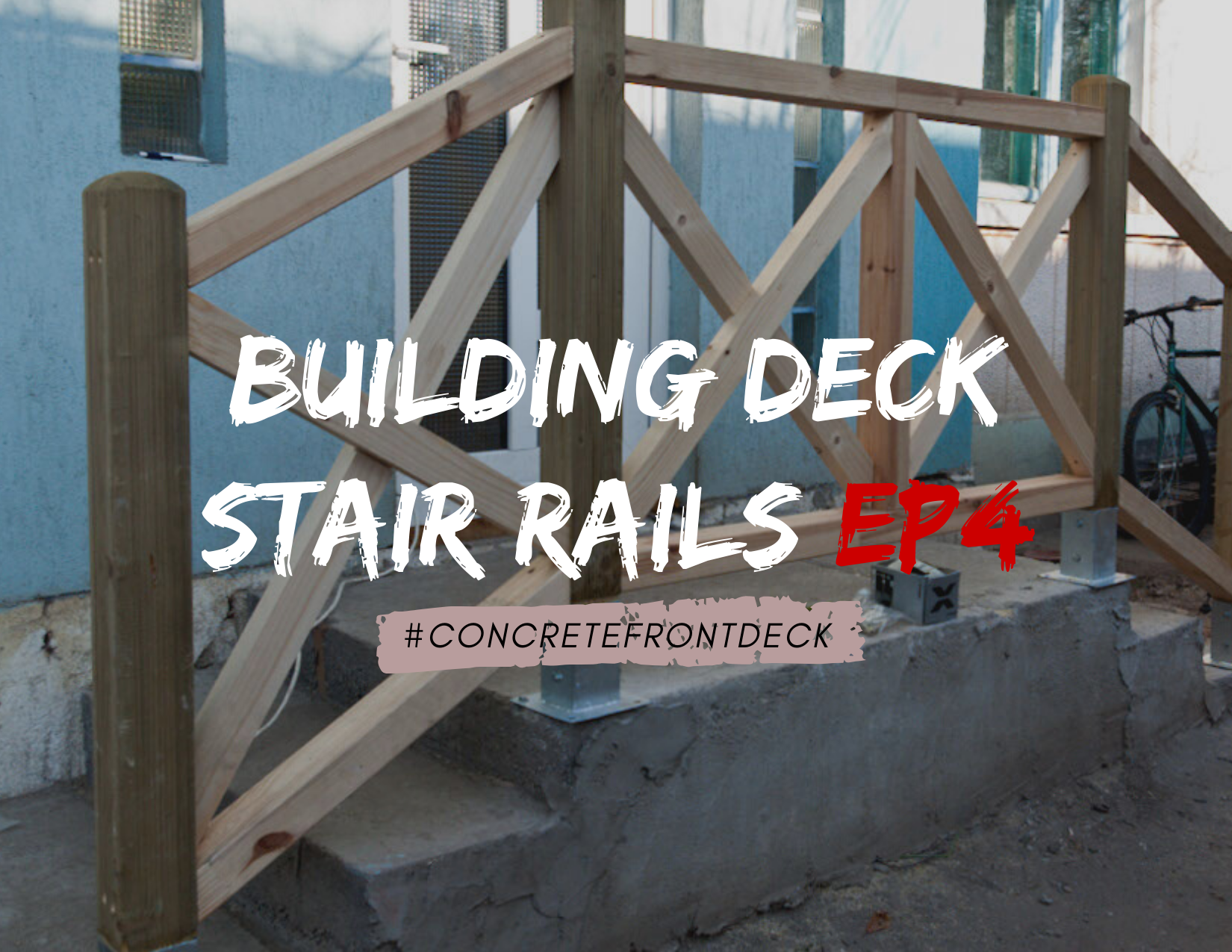 How To Build Deck Stair Railings, How To Build A Wooden Handrail For Outdoor Steps