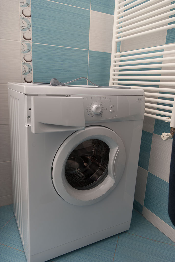 install washing machine