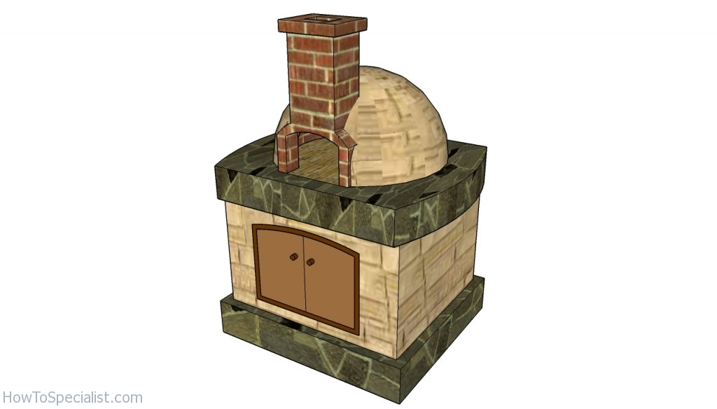 Pizza Oven Free Plans Howtospecialist How To Build