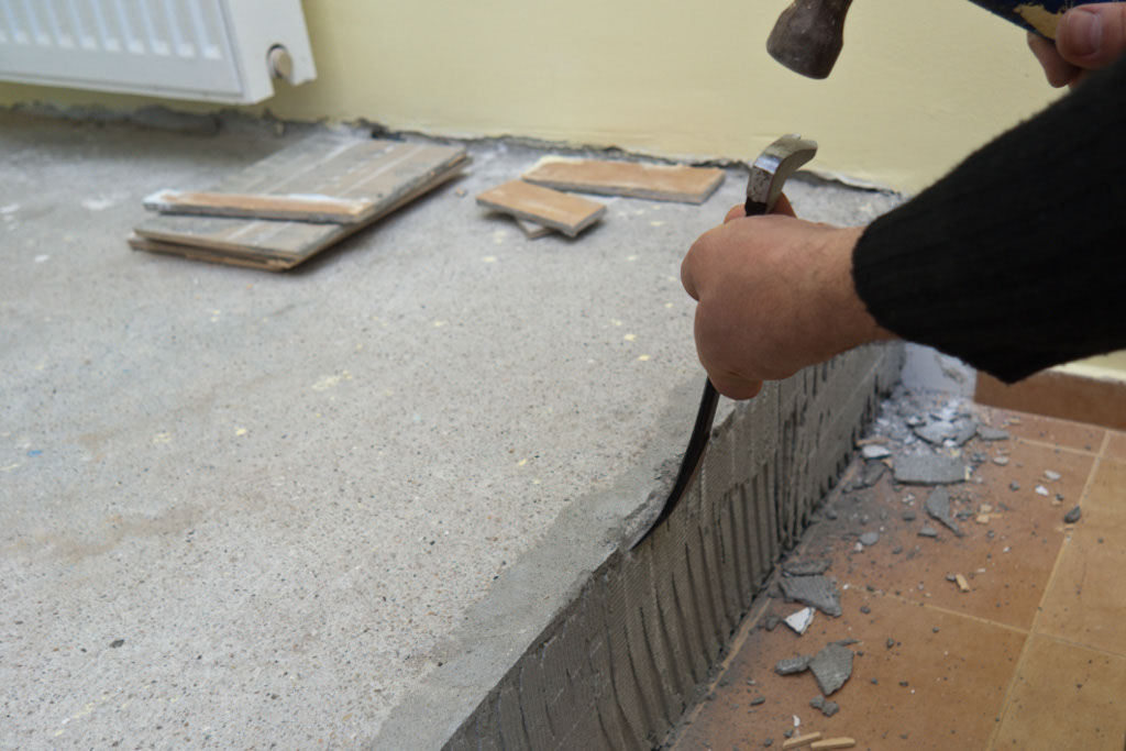 How To Remove Tile Adhesive