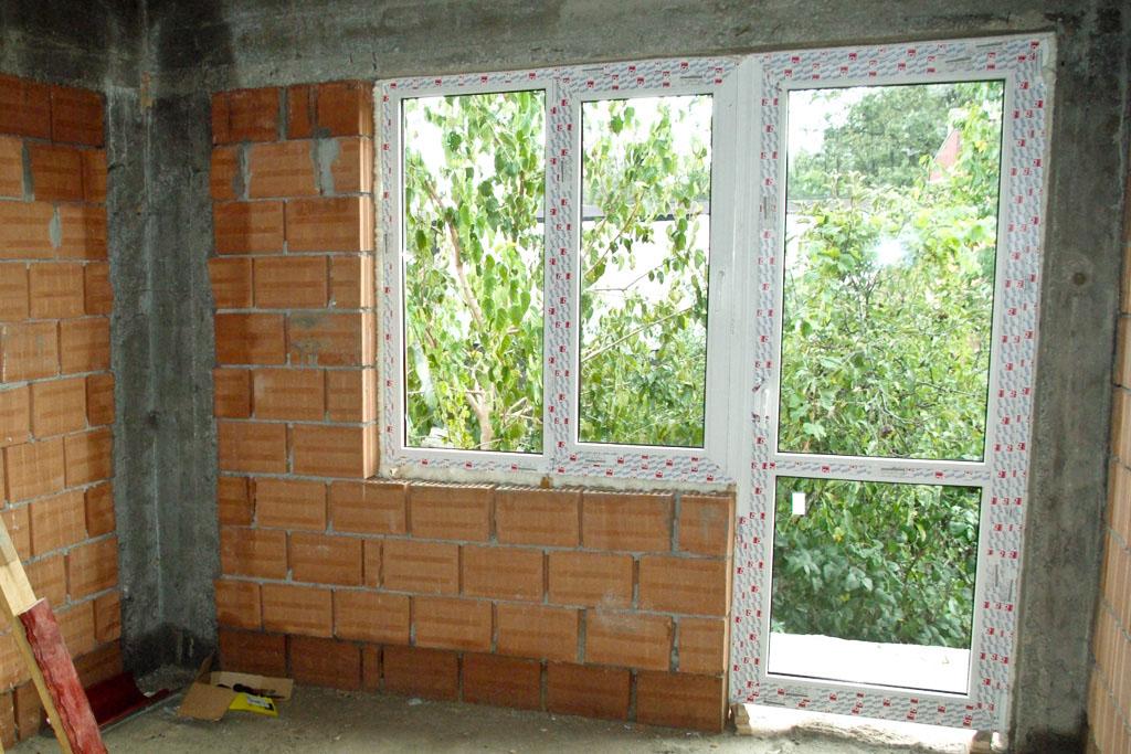 Installing Vinyl Windows New Construction
