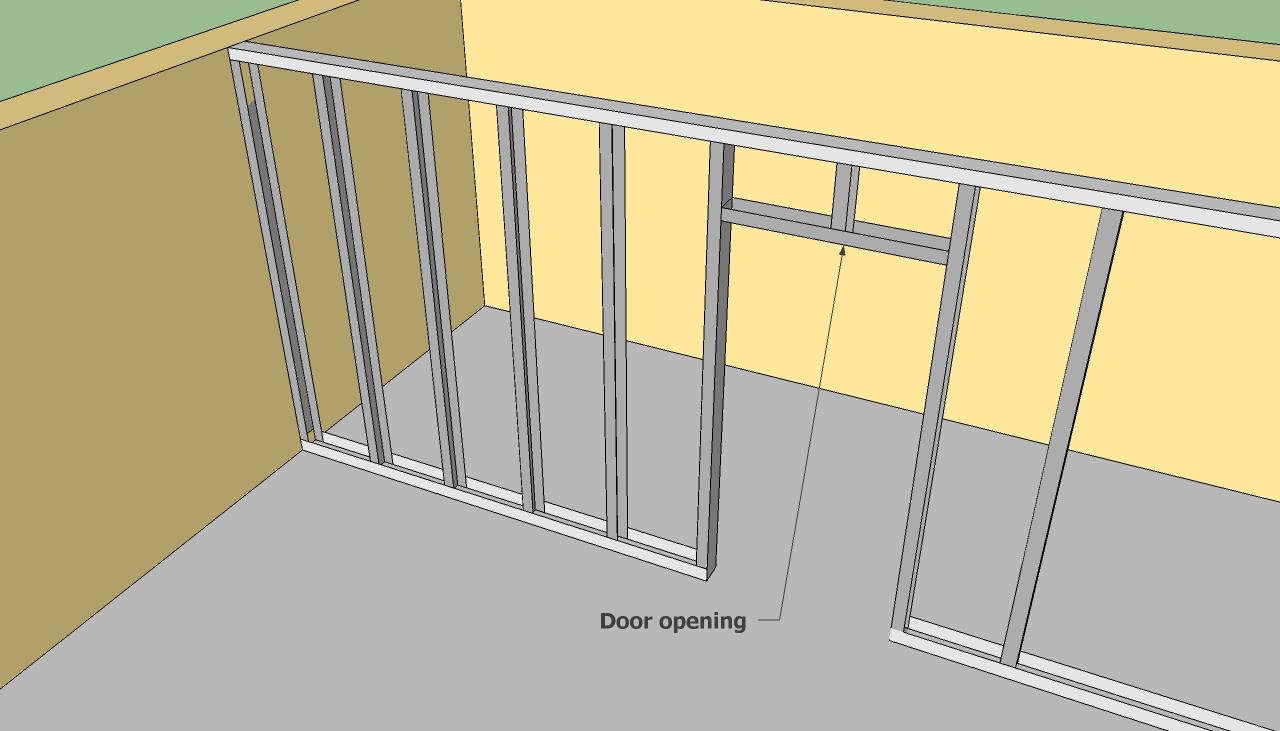 How to make door frame metal detector finds