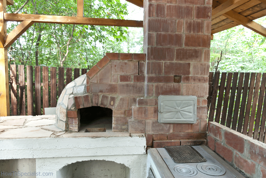 pizza oven1 howtospecialist how to build step by step diy plans