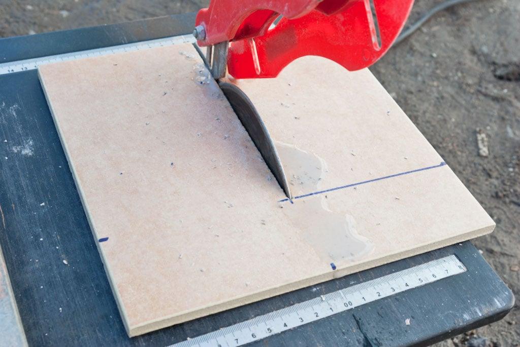 installing tile edging