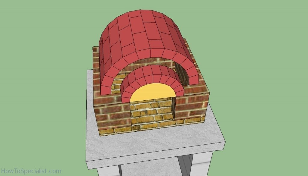 Wood fired pizza oven arch plans