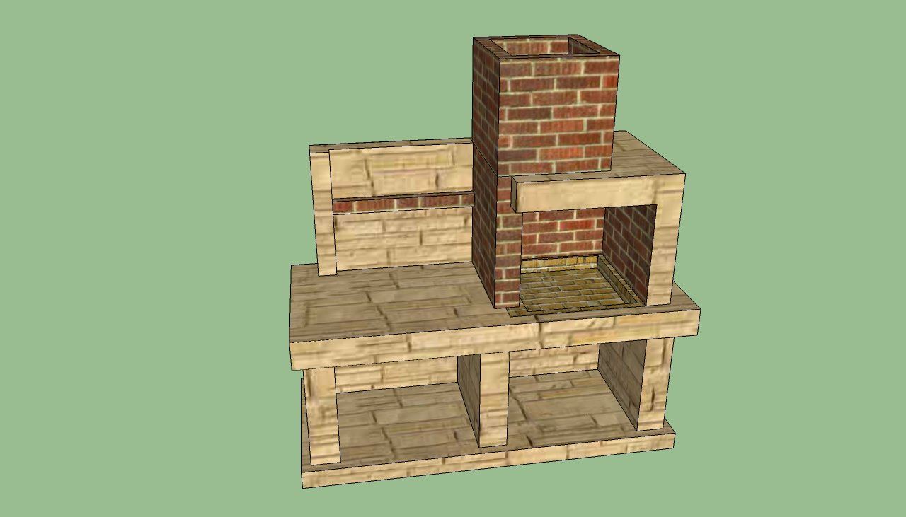 Outdoor Brick Bbq Designs Plans