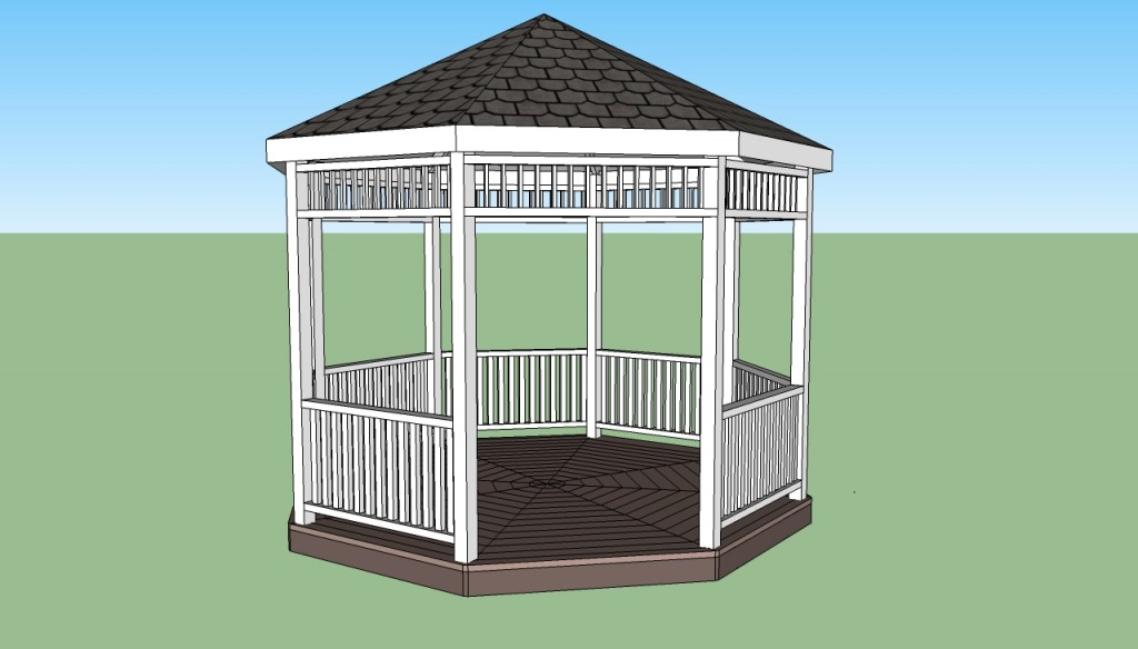 gazebo plans free howtospecialist how to build step by step diy plans