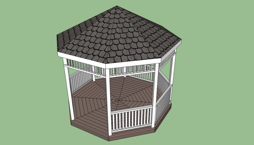 Octagonal gazebo plans