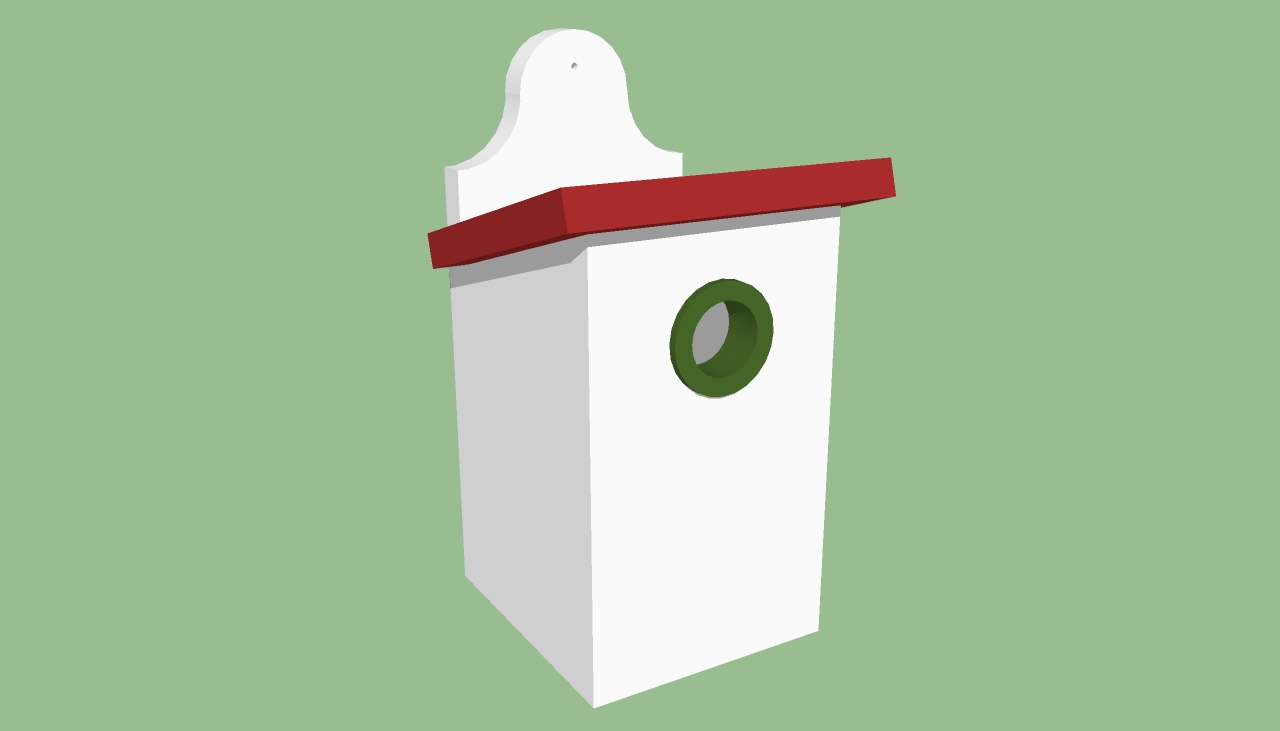 Simple birdhouse for kids plans