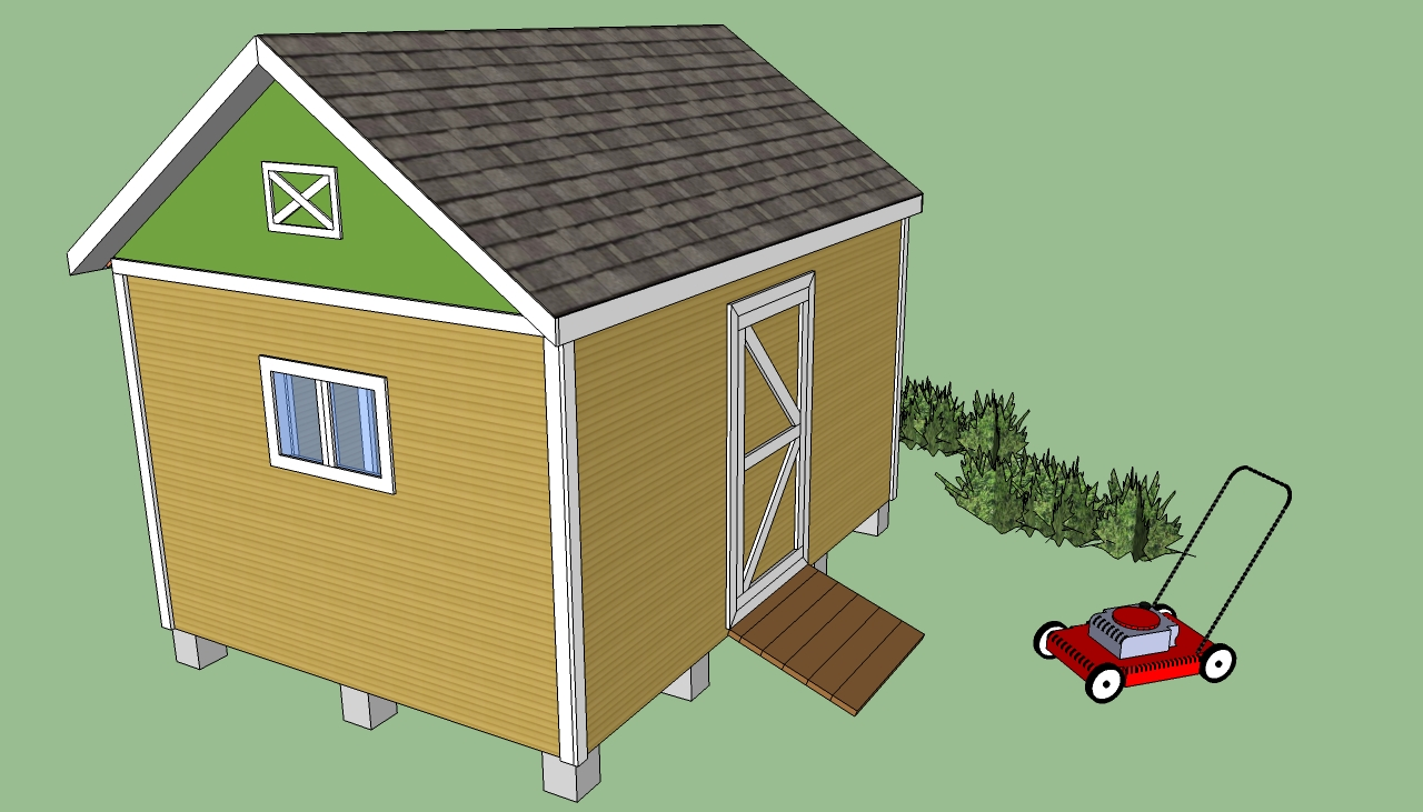 Firewood storage shed plans howtospecialist how rachael for Shed building plans pdf