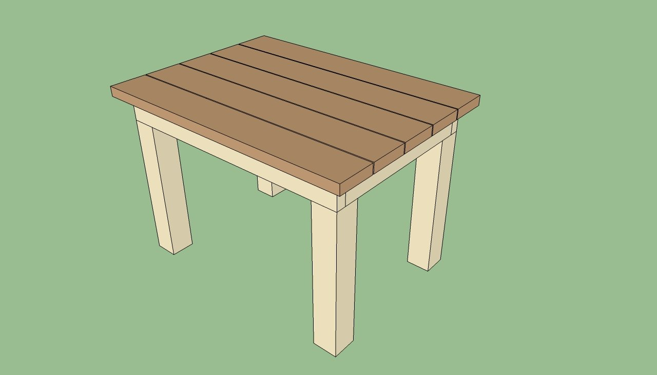 Patio table plans | HowToSpecialist - How to Build, Step ...