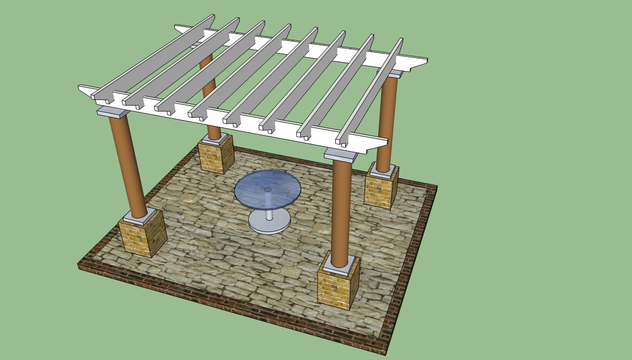 Pergola design howtospecialist how to build step by for Build own house plans