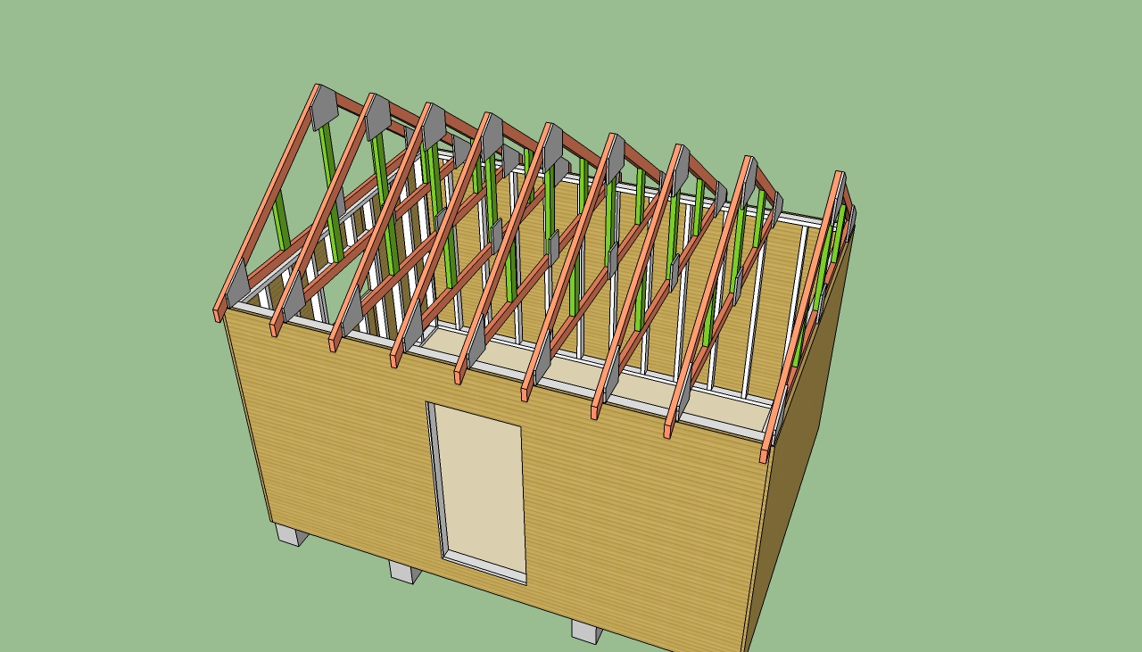Pdf diy shed roof storage building plans download sewing for Storage shed house plans