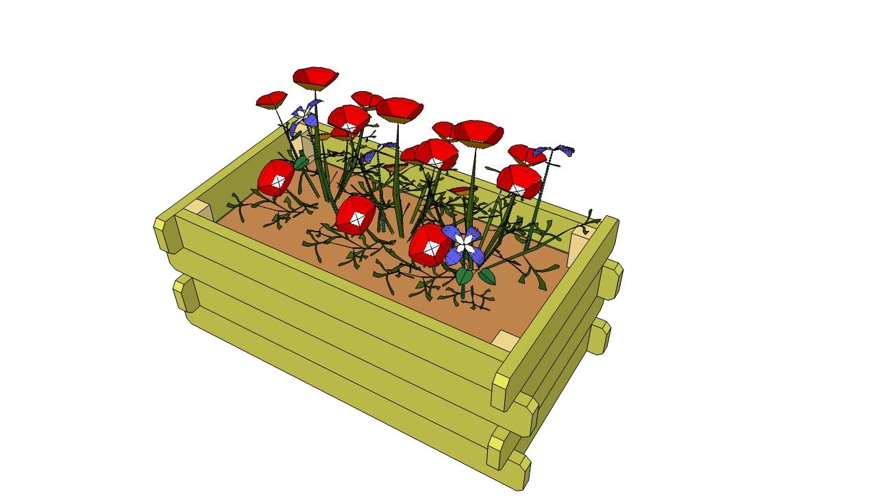 Flower boxes plans