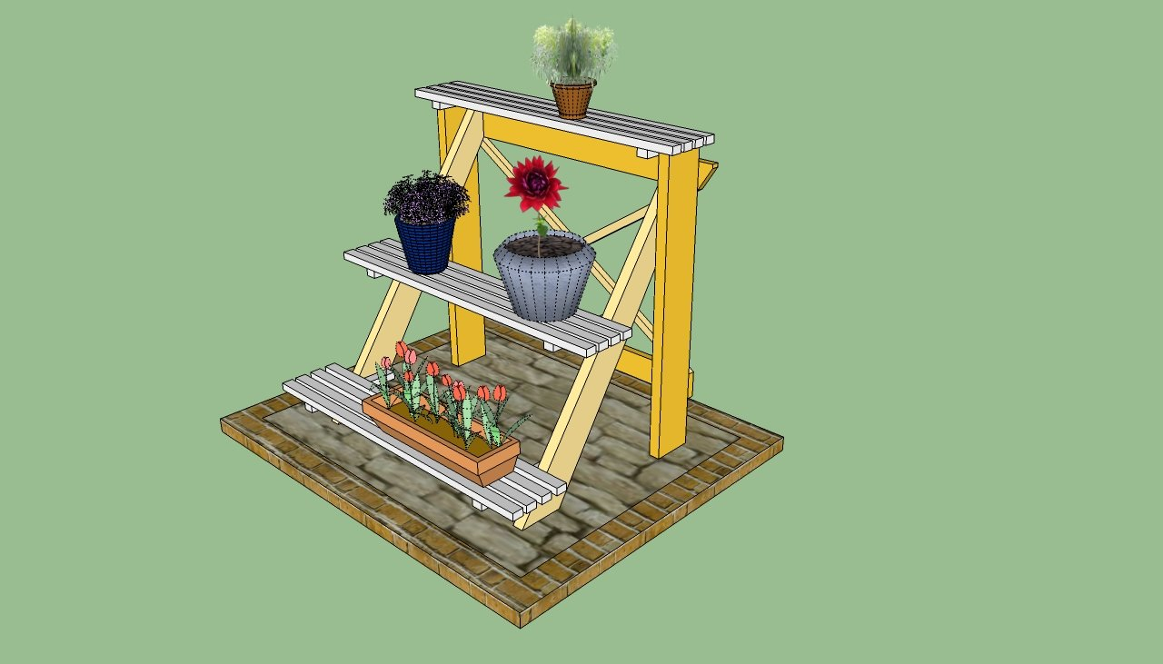 Potting bench plans