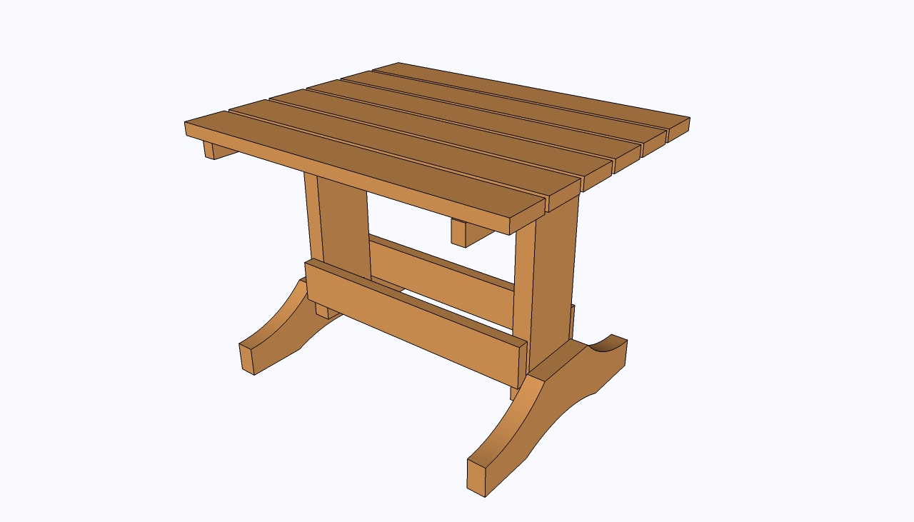 Small table plans howtospecialist how to build step for Table design plans