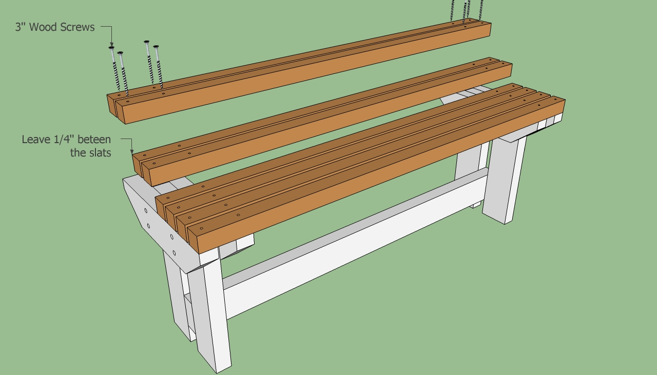 How To Build A Park Bench Howtospecialist How To Build