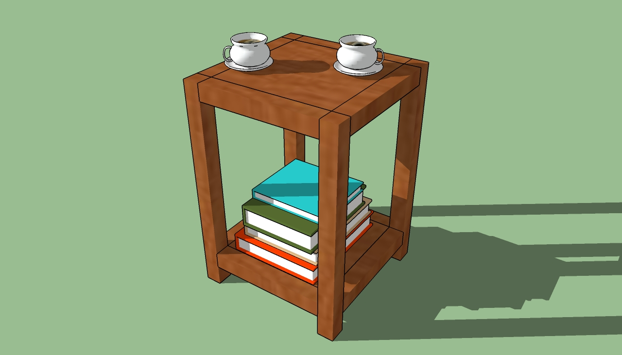 PDF DIY Simple Wooden End Table Plans Download