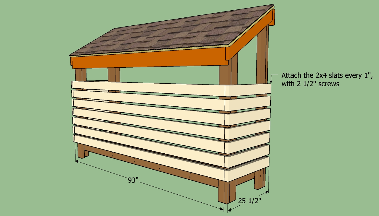 How to build a wood shed | HowToSpecialist - How to Build ...