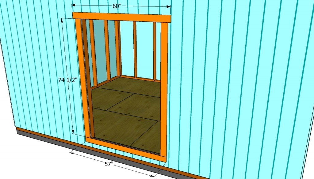 Double Exterior Door For Shed Steel Doors