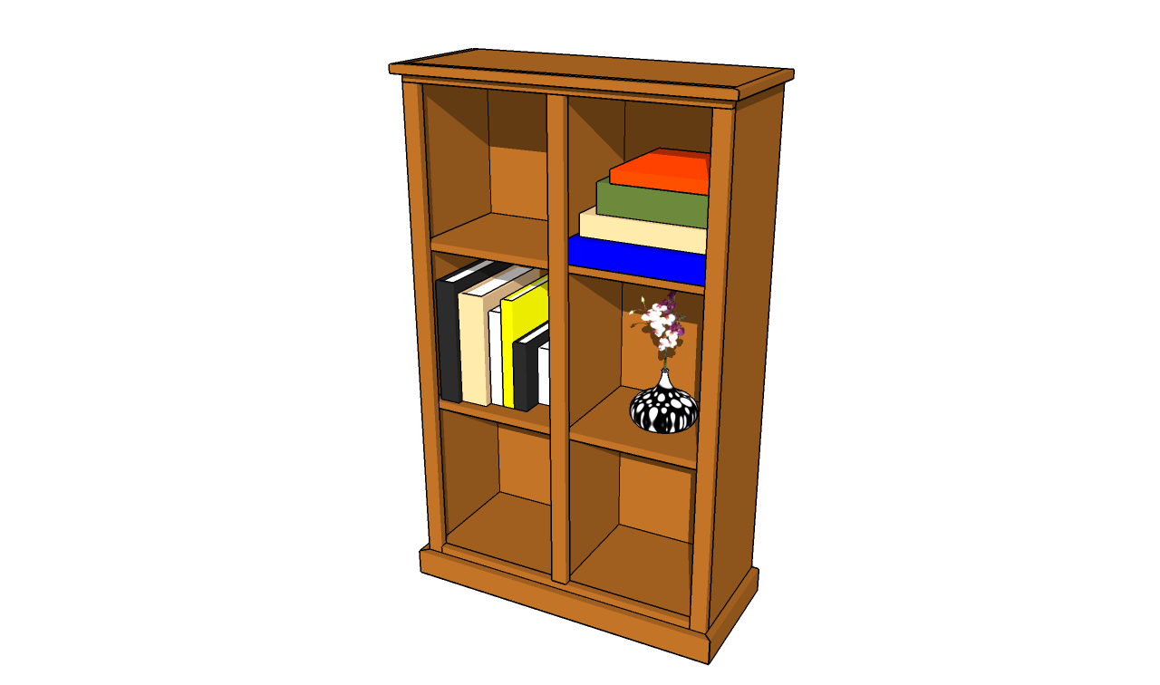 ... bookshelf | HowToSpecialist - How to Build, Step by Step DIY Plans