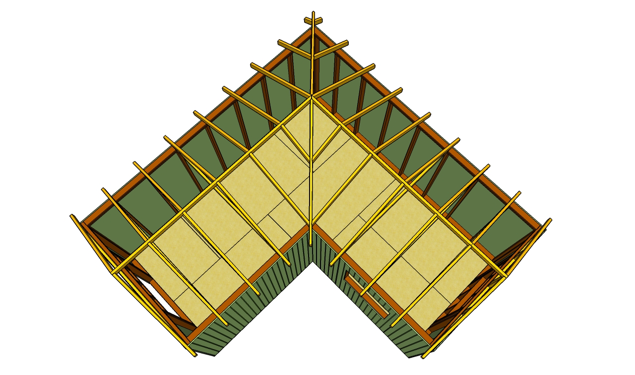 Image gallery l shaped roof designs L shaped building