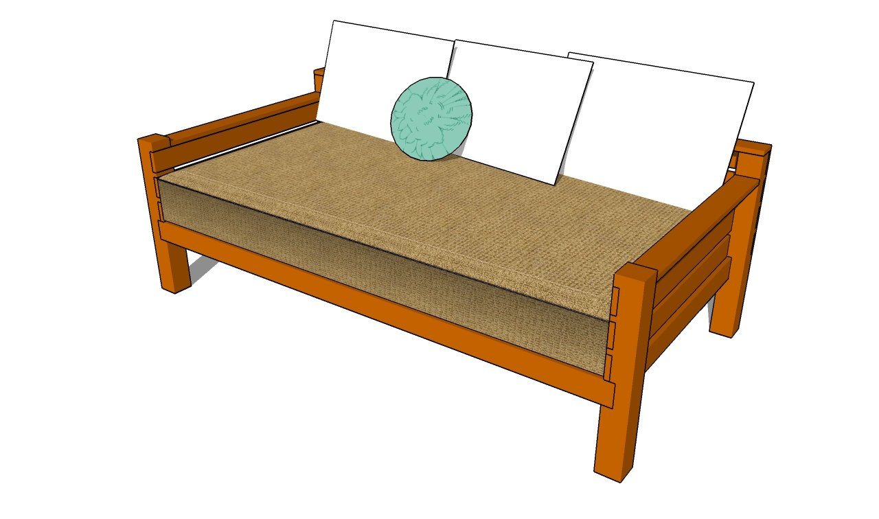 Lovely How to build a daybed