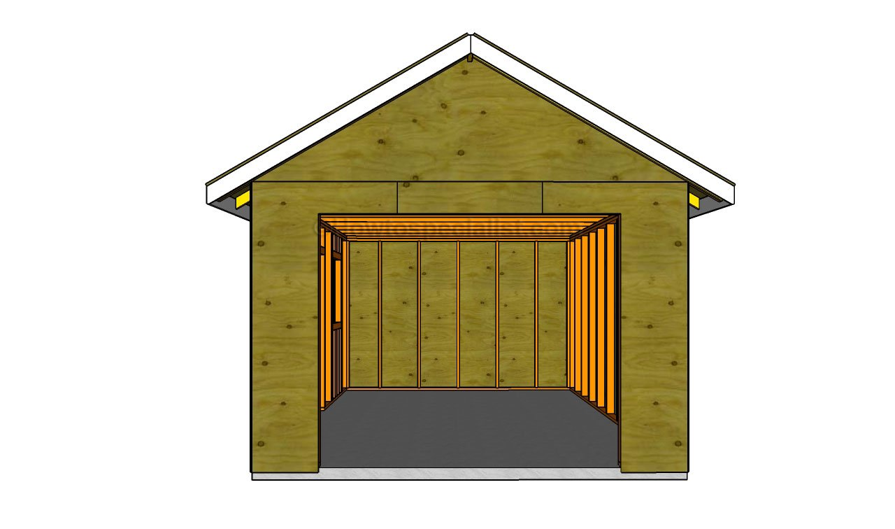 How to build a detached garage howtospecialist how to for Garage building designs