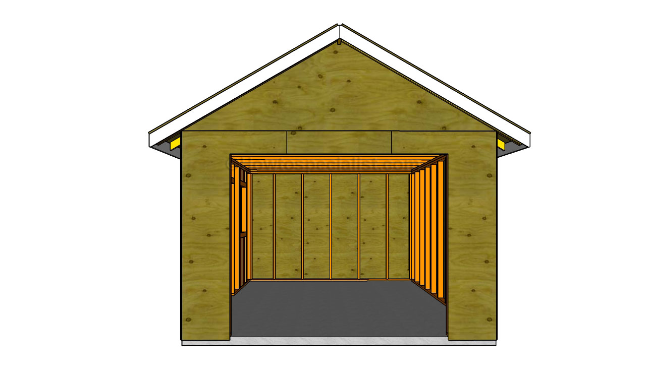 How to build a detached garage howtospecialist how to build step by step diy plans - How to build a garage cheaply steps ...