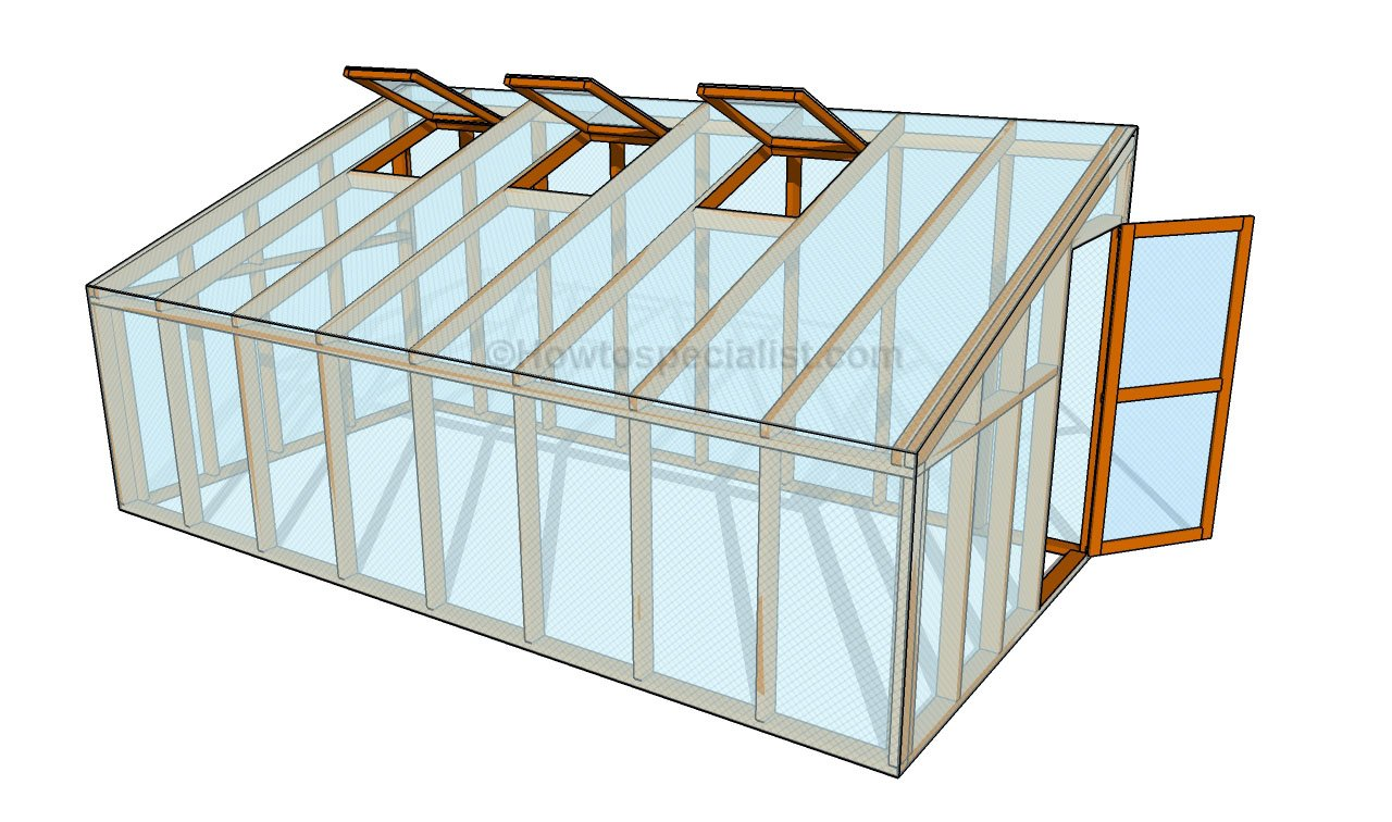 How To Build A Lean To Greenhouse Part 80