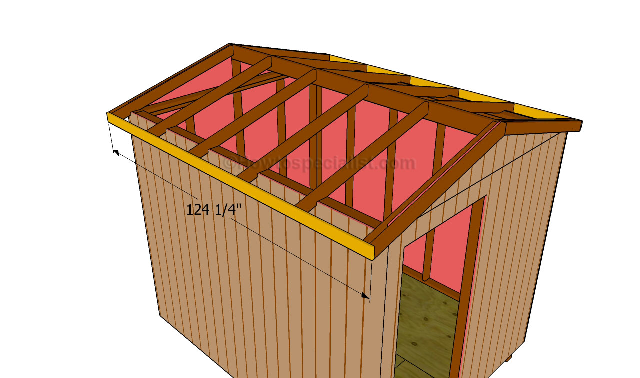 How to build a roof for a shed for Cupola for shed