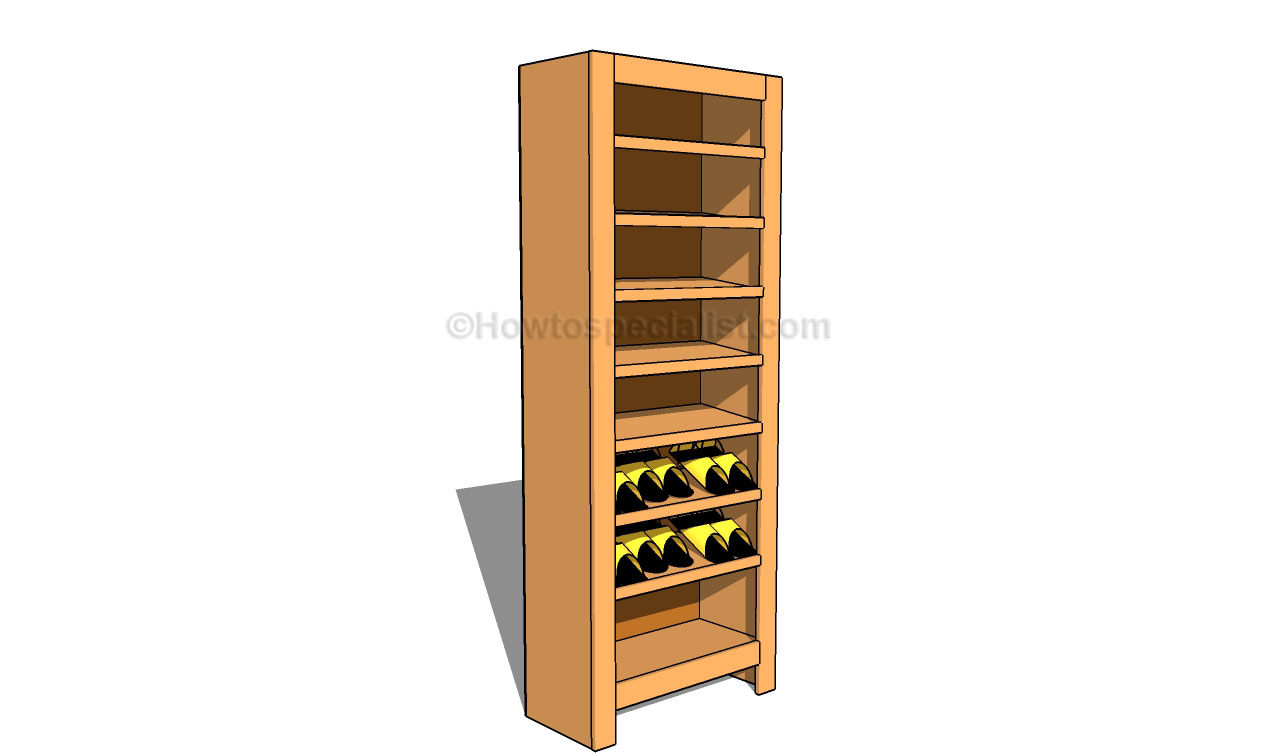 shoe rack plans | howtospecialist - how to build, step