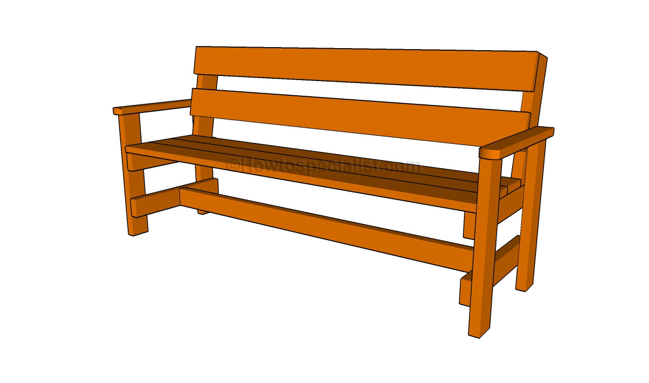 How to build a garden bench1