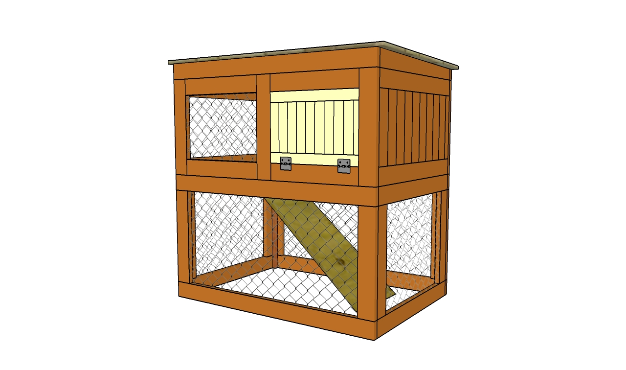 Woodwork diy rabbit hutch designs plans pdf download free for Diy hutch plans