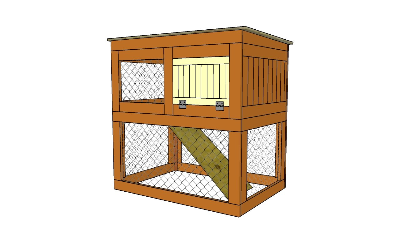 How to build a rabbit hutch step by step   HowToSpecialist   How ...