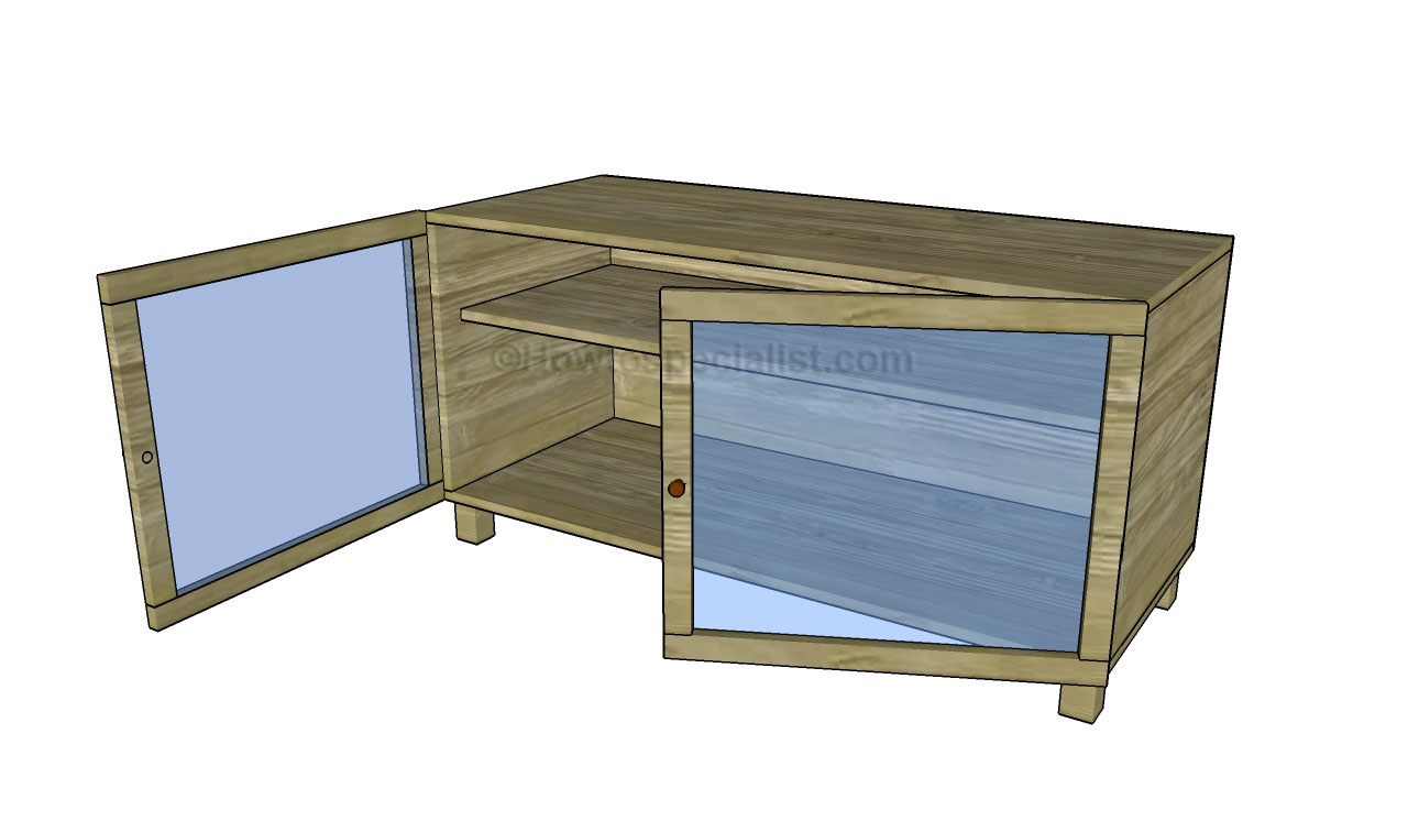 building a tv stand plans woodworktips