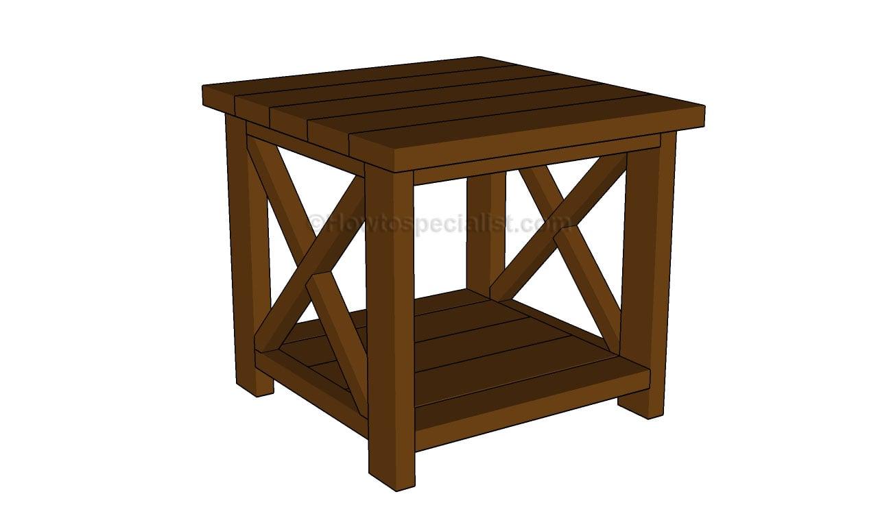 26 Innovative Free Woodworking Plans End Table | egorlin.com