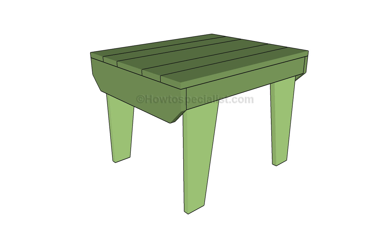 Build Your Own Small End Table Plans DIY Free Download ...