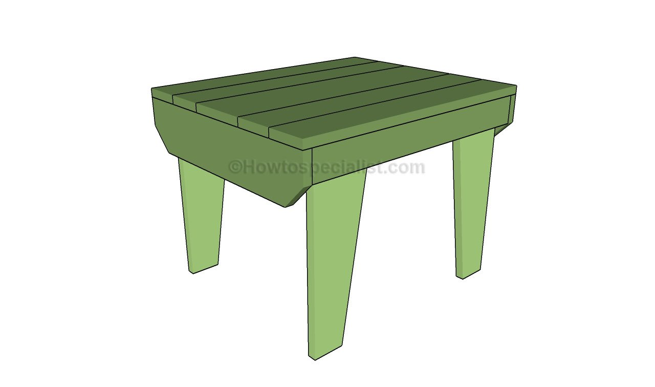 How to build a small table HowToSpecialist How to Build Step by