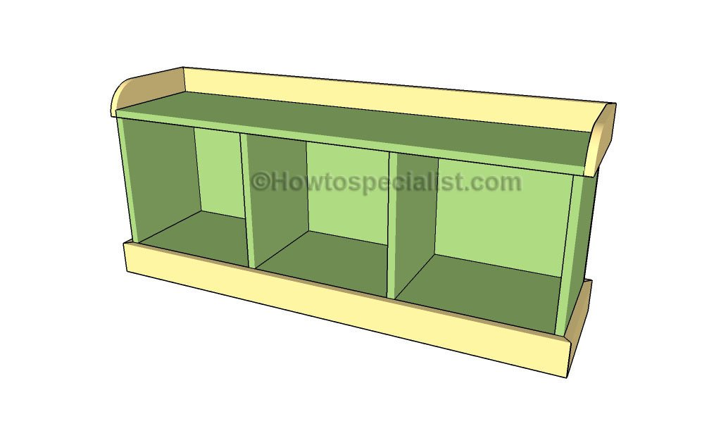 Foyer Bench Dimensions : Entryway bench plans howtospecialist how to build