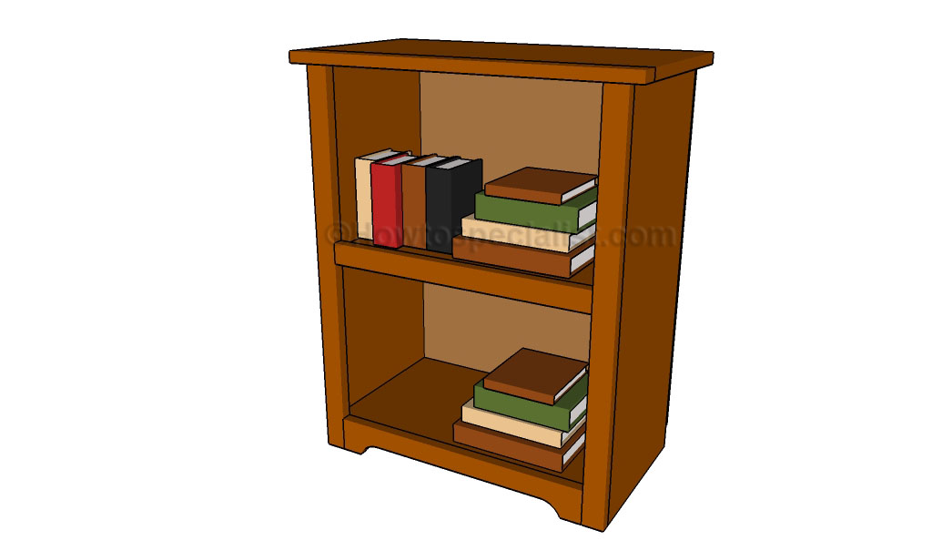 Simple bookshelf plans | HowToSpecialist - How to Build, Step by Step ...