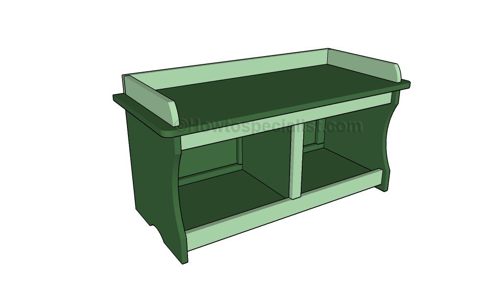 How to build a bench with storage | HowToSpecialist - How to Build ...