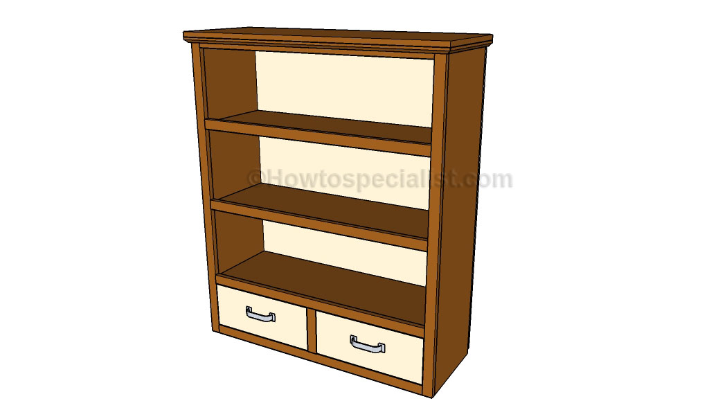 woodwork how to build a bookcase step by step pdf plans
