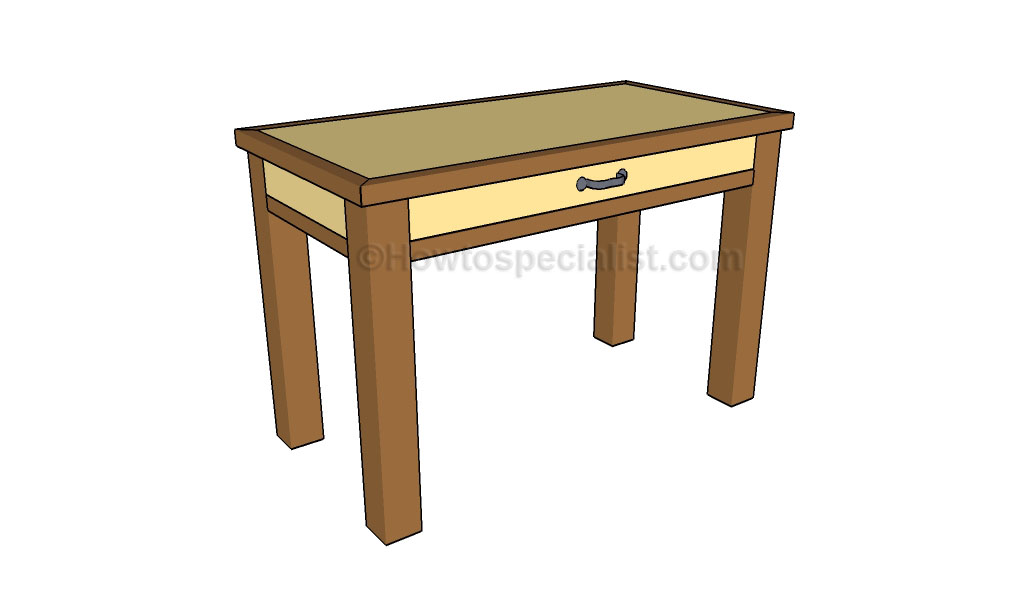Woodworking simple desk plans diy PDF Free Download